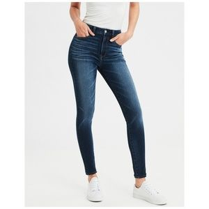 AMERICAN EAGLE OUTFITTERS High Rise Jegging Dark